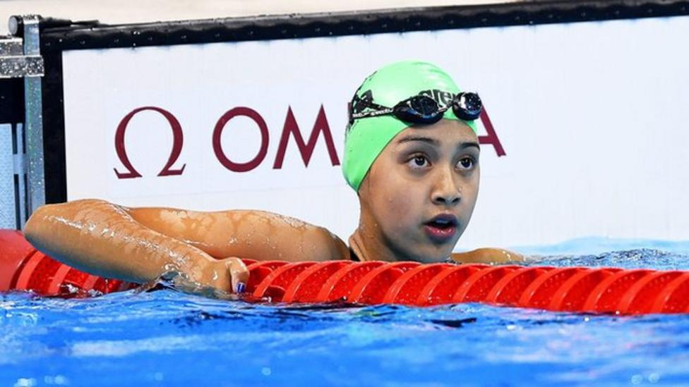 Youngest Olympian 'proud' to be in Rio