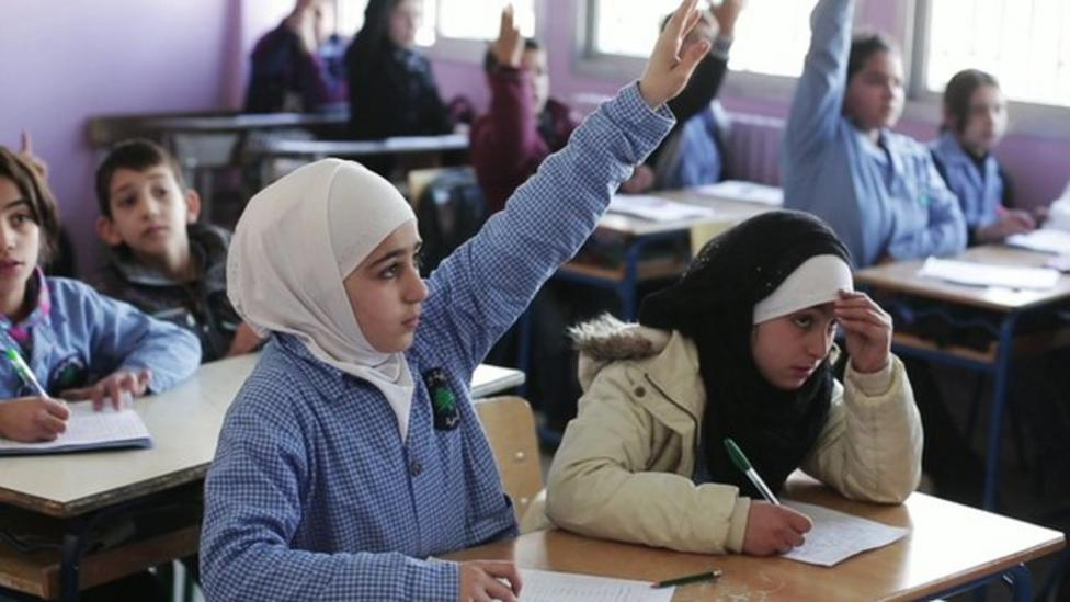 Syrian refugees miss out on school