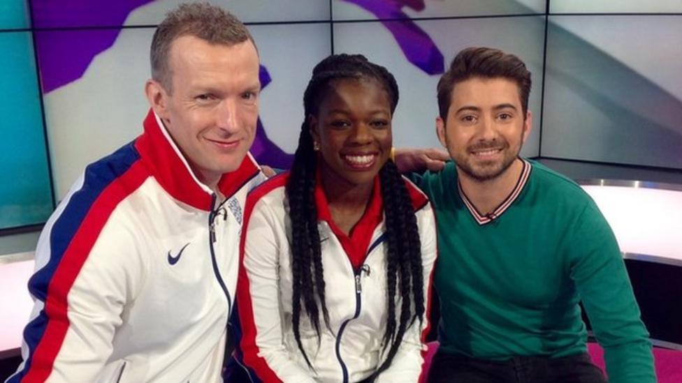 Athletics stars talk Rio and selfies
