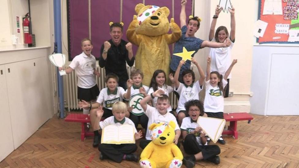 Dick and Dom launch Children In Need