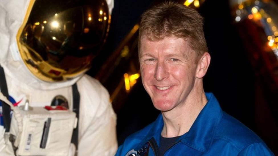 Astronaut Tim Peake's space countdown