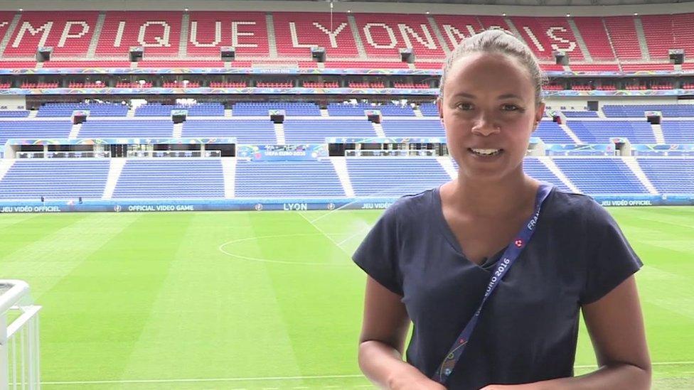 Leah's Euro 2016 stadium tour