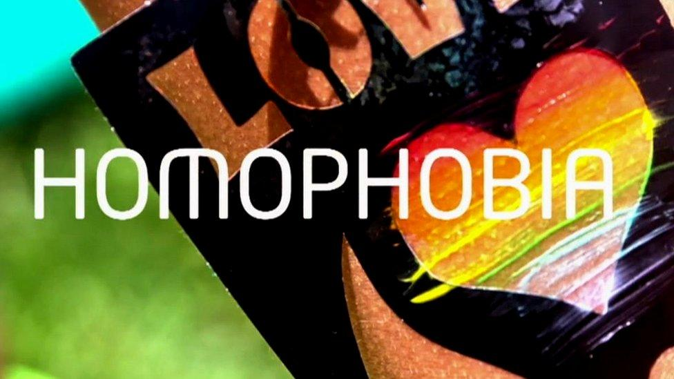 What is homophobia?