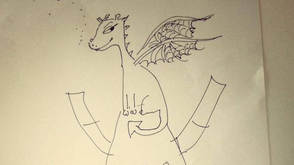 How to draw Toothless and Hiccup
