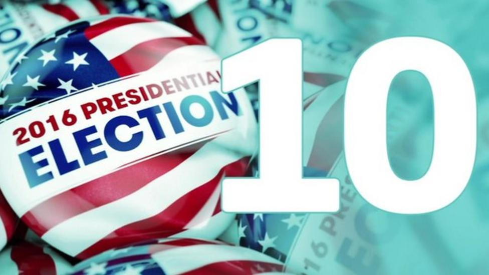 US election: 10 things you didn't know