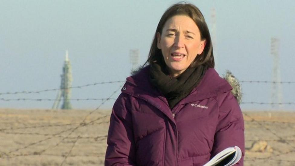 Sarah Rainsford reports from Tim's launch site