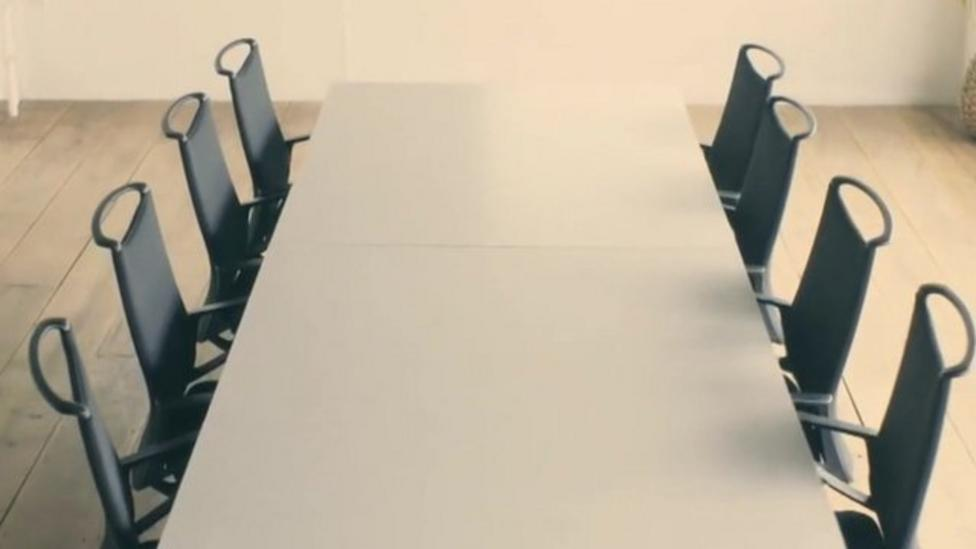 Chairs that tidy themselves away