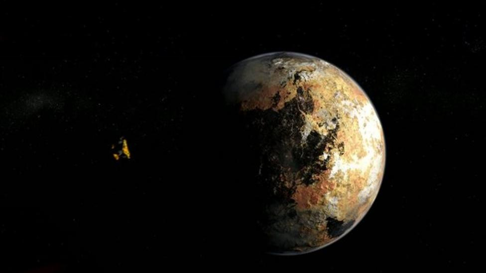 Probe near Pluto after ten year journey