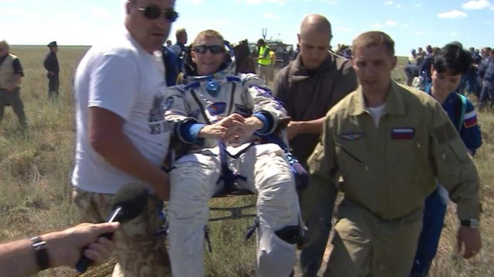 How Tim Peake returned home safely