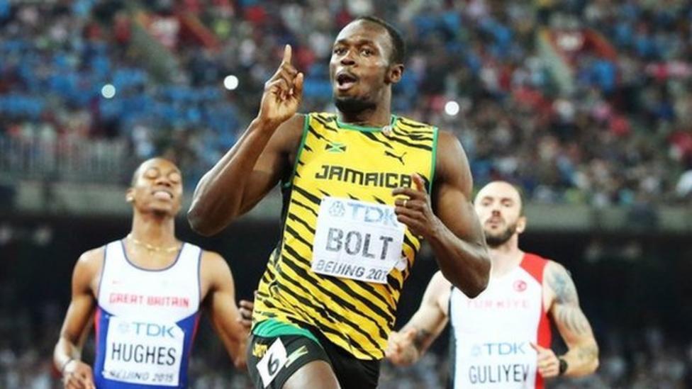 Bolt beats Gatlin to win 200m gold