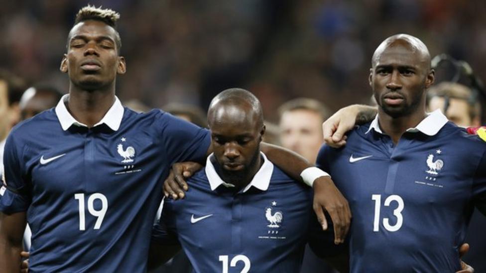 Wembley unites to sing French anthem