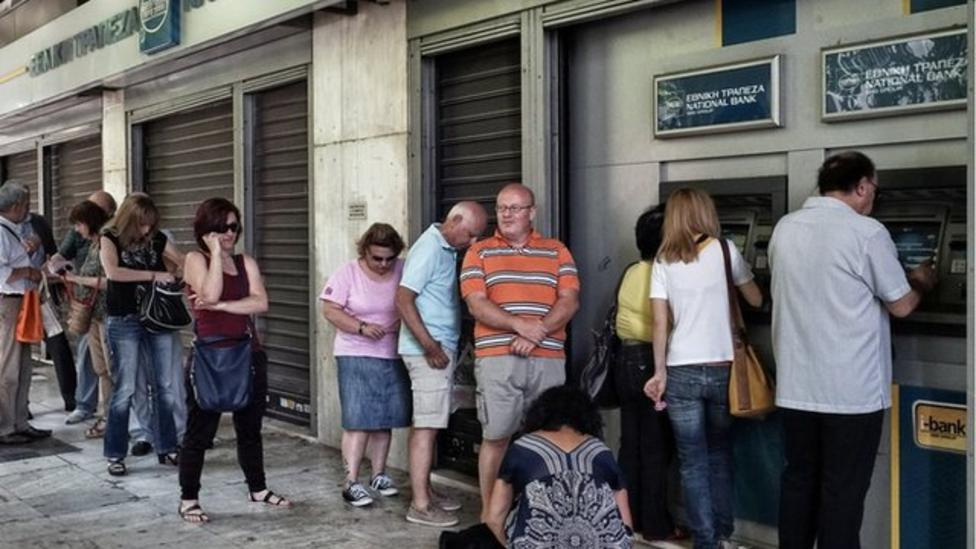 Why are Greece's banks closed?