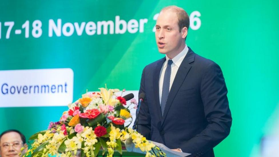 Prince William: Why are we still trading ivory?