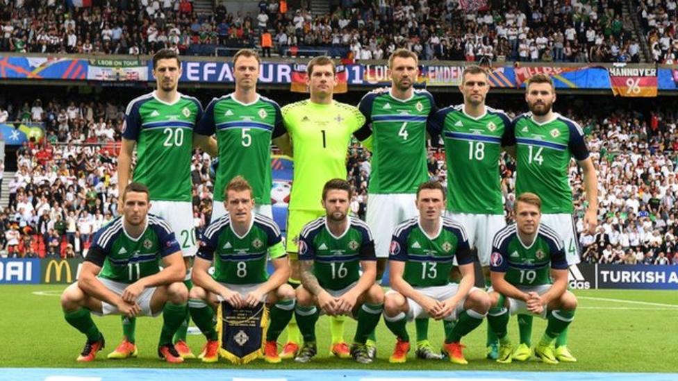 Northern Ireland through to last sixteen