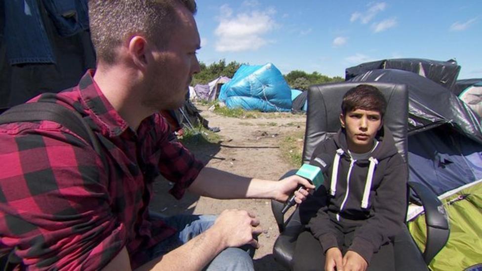 Migrant's 5,000 mile journey to UK
