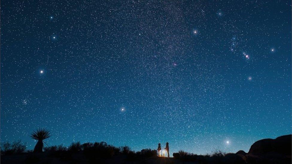 Stargazing spots announced across UK