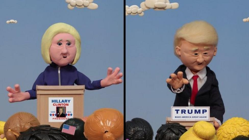 America's next president explained in clay
