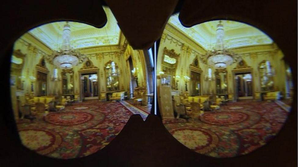 New virtual tour of Buckingham Palace