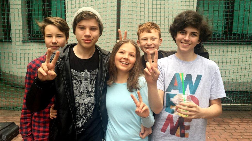 Polish kids on the UK and immigration