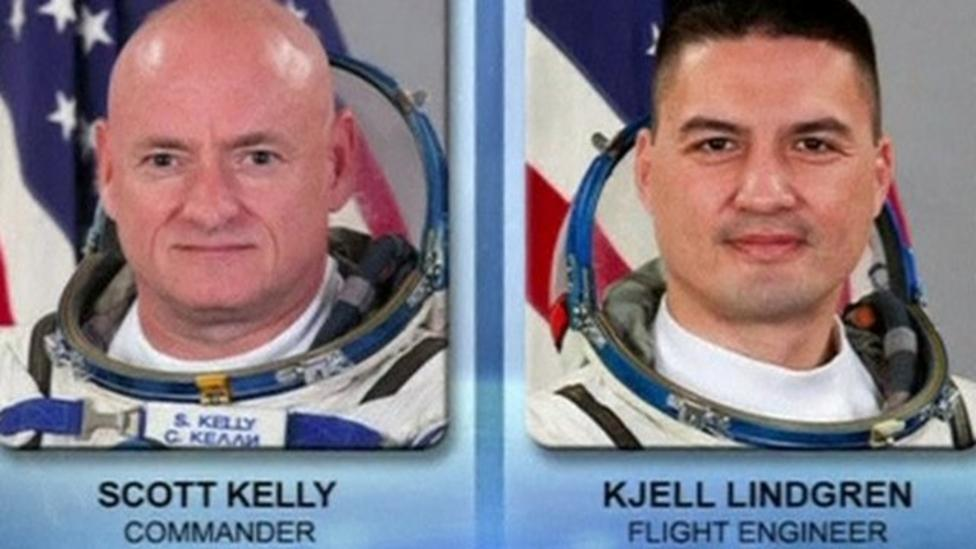 US astronauts spacewalk from ISS
