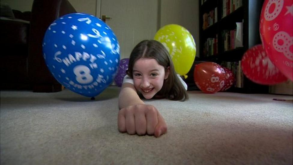 8-year-old has only had two birthdays
