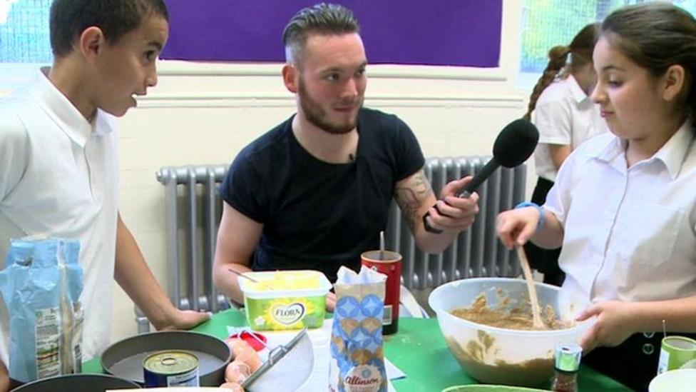 Kids hold their own Bake Off 'final'