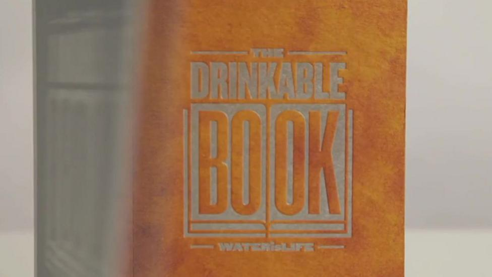 How can a book purify water?