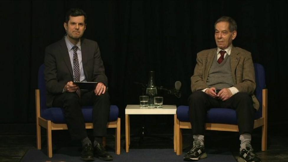 UK schools hear Holocaust survivor's story