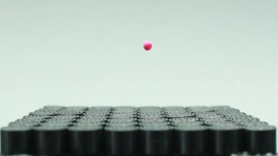 World's first 'sonic tractor beam'
