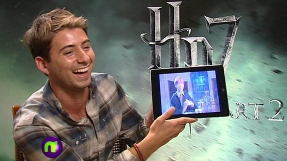 Ricky surprises Rupert Grint