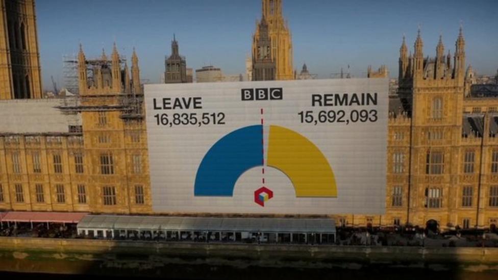 Story of EU referendum result night
