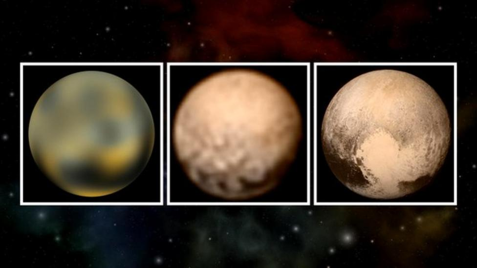 All the Pluto pictures in 60 seconds