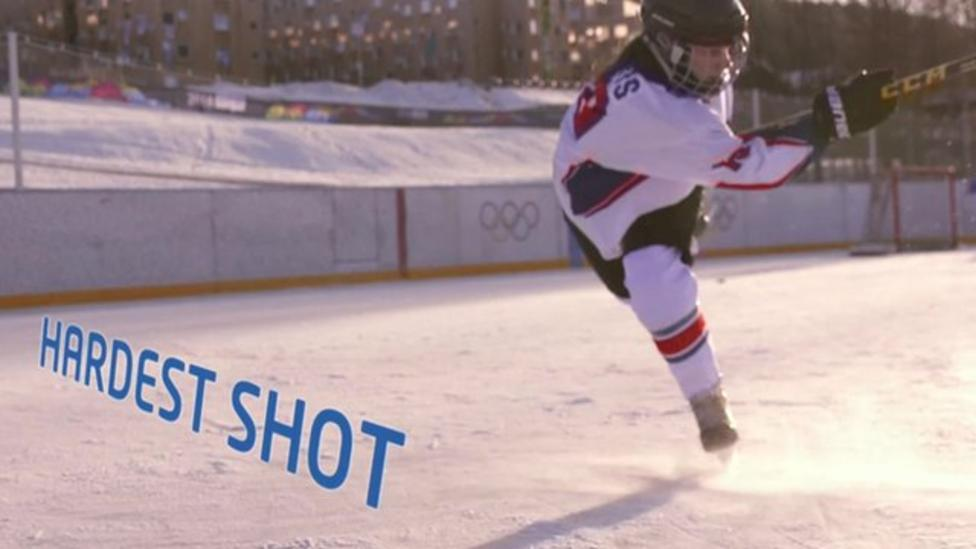 Meet Britain's solo ice hockey star