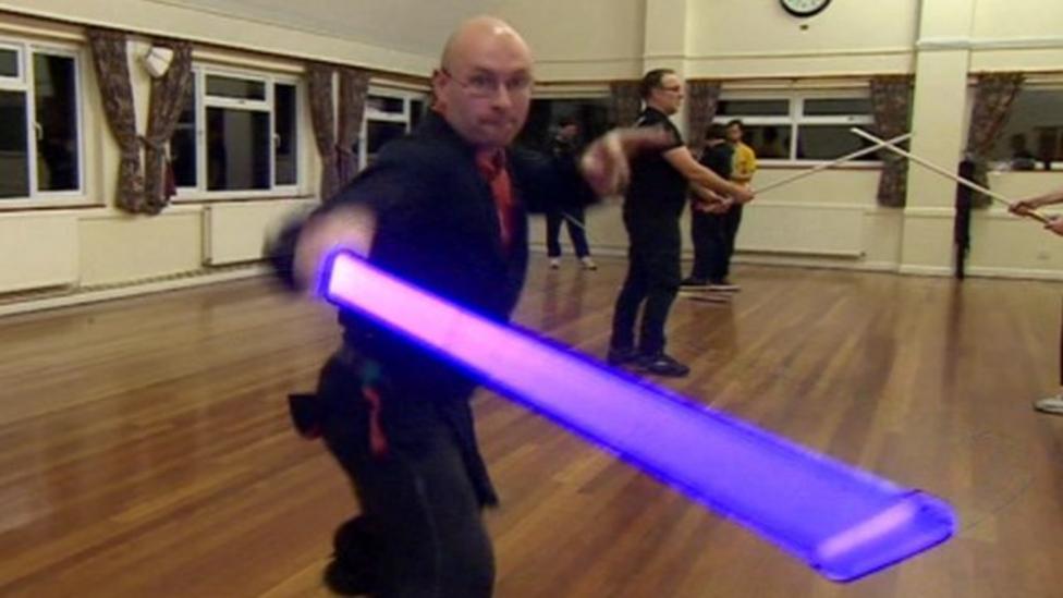 Lightsaber lessons take off