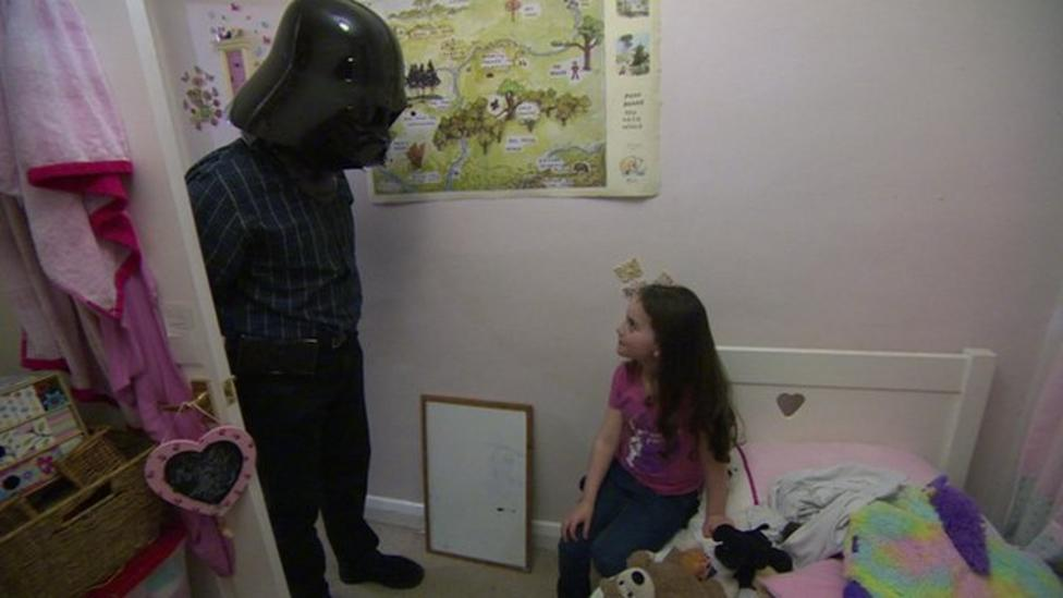 The 'force' is strong with this family