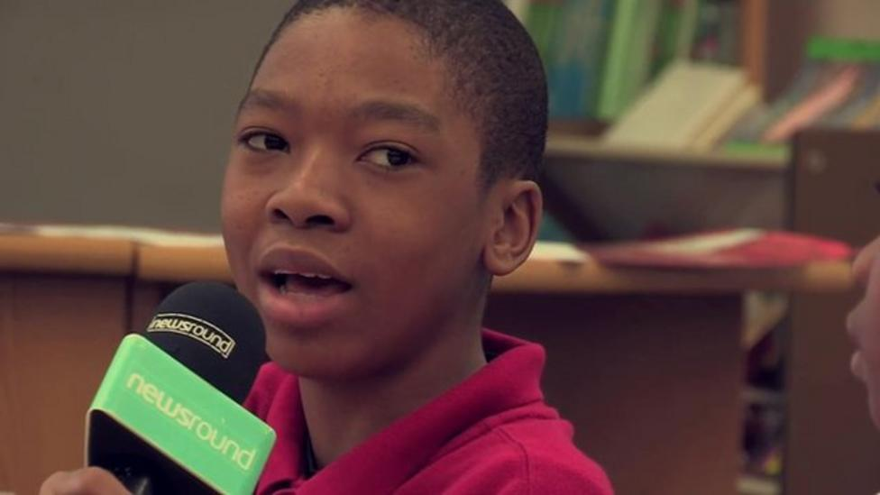 US kids talk about issue of police shootings