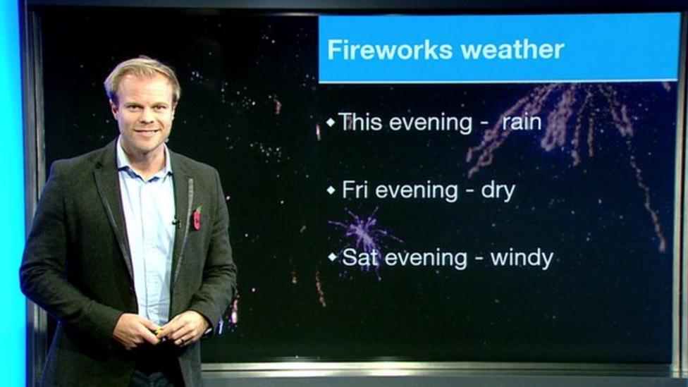 Bonfire Night weather forecast