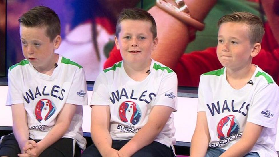 Wales kids: 'Usually it's all about rugby'