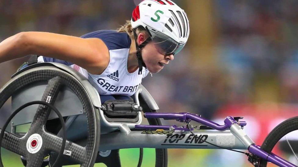 Hurricane Hannah's three Paralympic golds