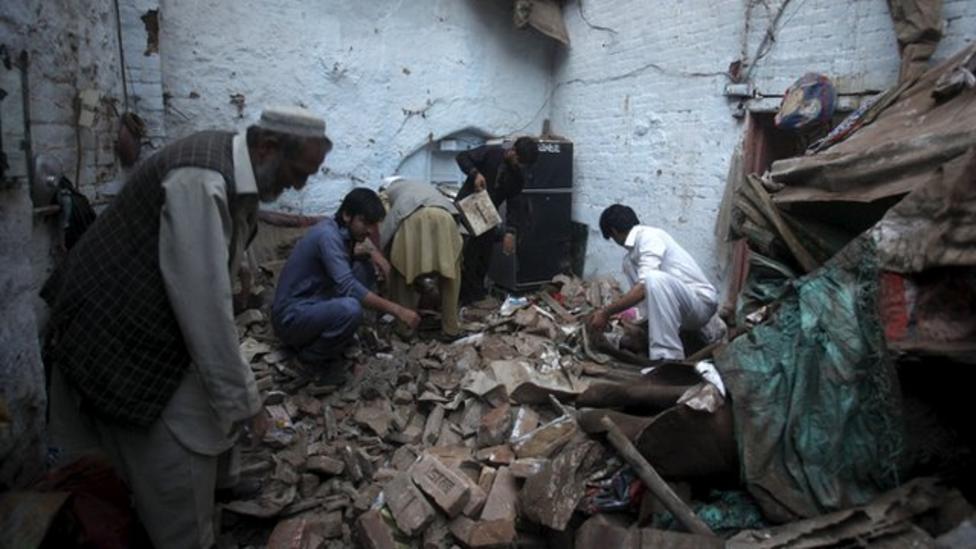 Earthquake hits Afghanistan and Pakistan