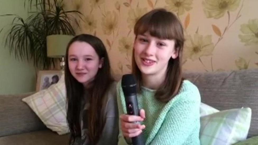 Kids react to Edinburgh school closures