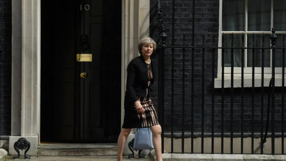 Theresa May set to become next PM