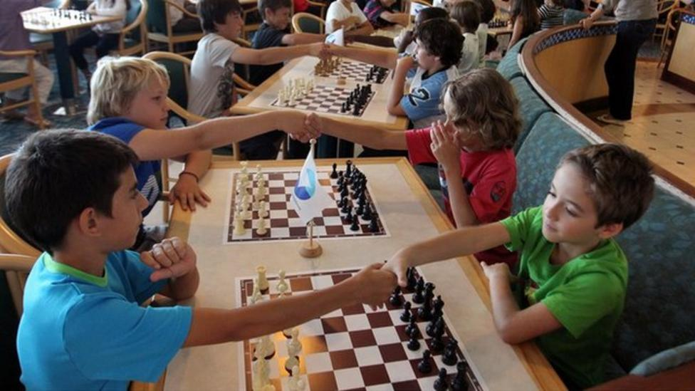 School kids take part in chess tournament