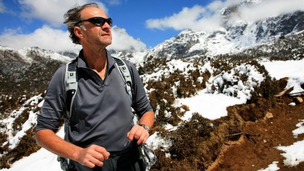 Explorer Ranulph Fiennes' epic challenge