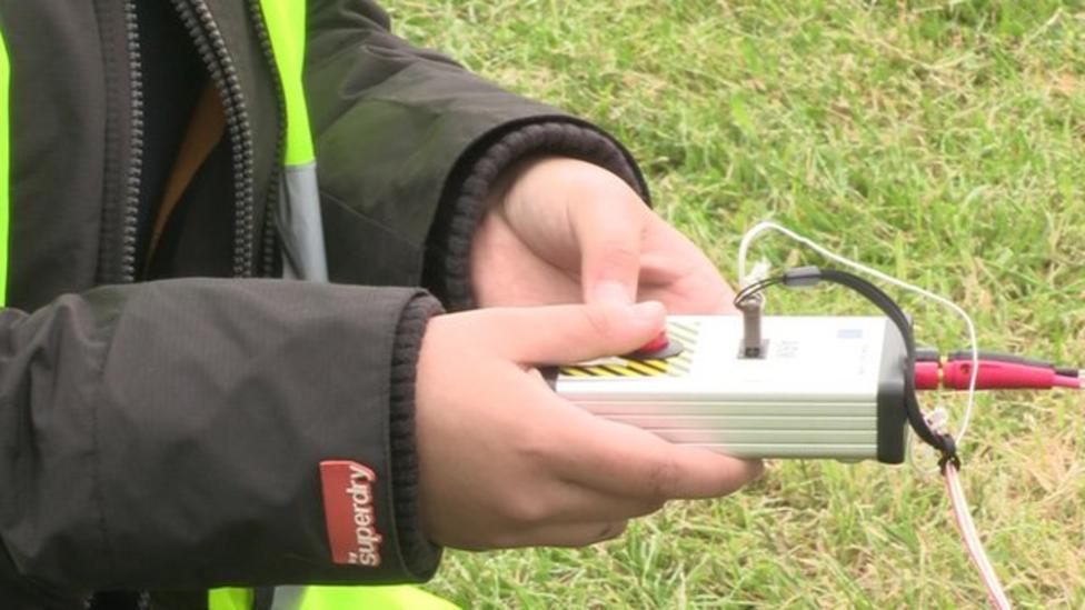 Schools compete in Rocketry challenge