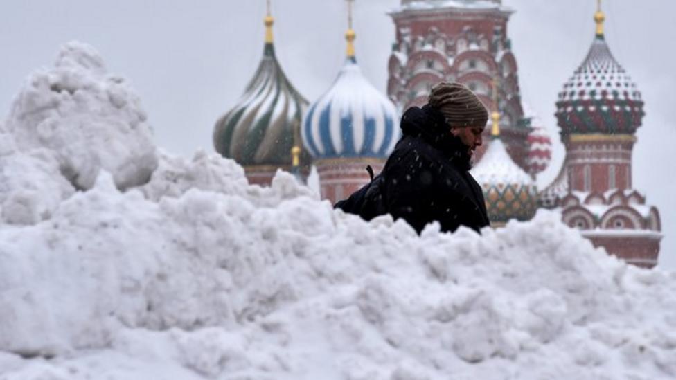 Moscow's amazing snow machines