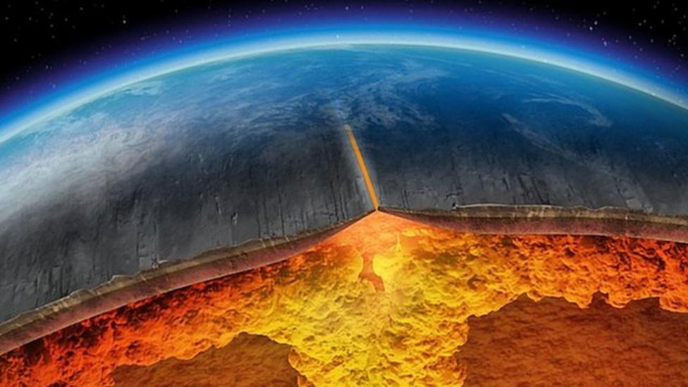 Mission to drill into the earth's crust