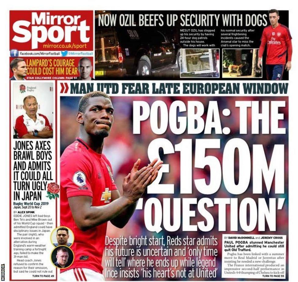 ผลการค้นหารูปภาพสำหรับ Football gossip: Neymar, Pogba, Eriksen, Coutinho, Sturridge