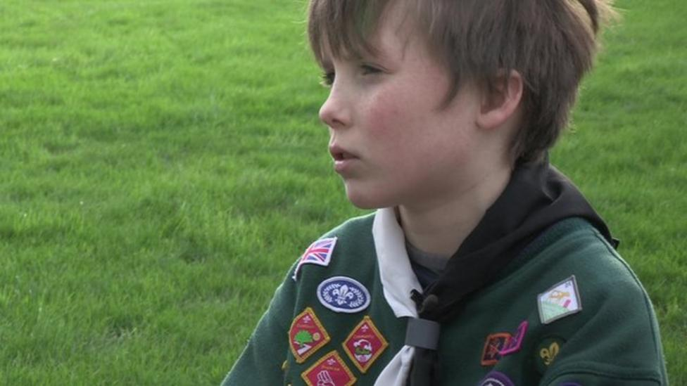 Cub Scout earns most badges in the UK