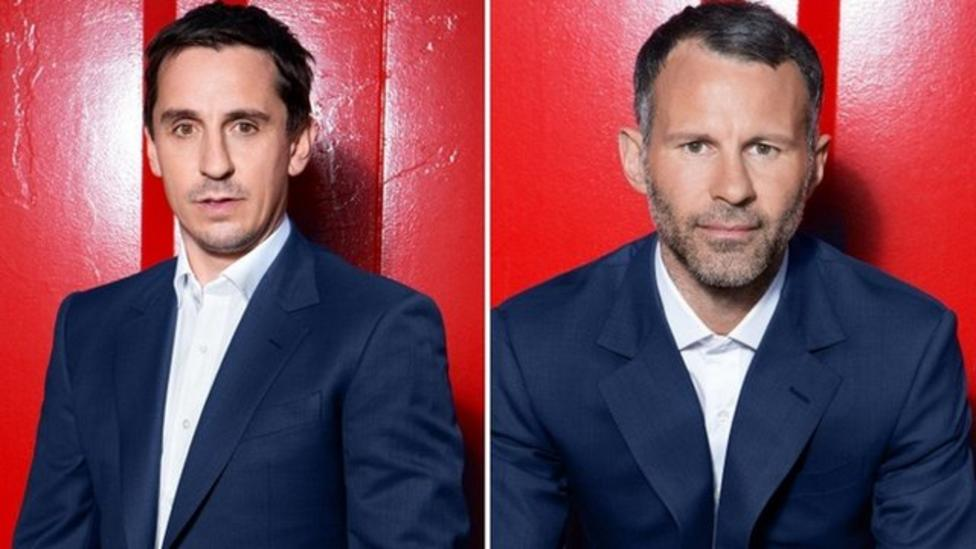 Homeless say thanks to Giggs and Neville